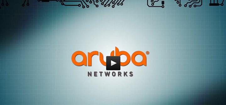 Vídeo demostrativo sobre la potencialidad de los Puntos de Acceso wifi de Aruba frente a Cisco