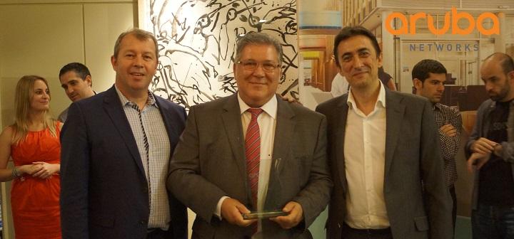 Instel reconocido como mejor partner SME de Aruba Networks 2014 en España