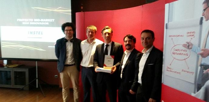 Avaya Partner Innovation Day 2016: Instel premiado por el proyecto mid-market  más innovador
