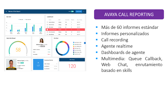 Avaya Call Reporting: The complete and affordable alternative to contact centers