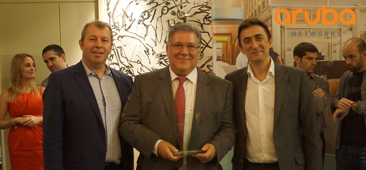 Instel mejor partner SME Aruba Networks